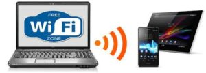 раздать wi-fi с ноутбука