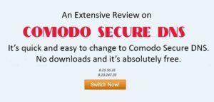 Comodo Secure DNS