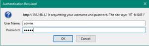 ввести адрес 192.168.1.1 в любом браузере
