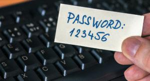 Записать пароль