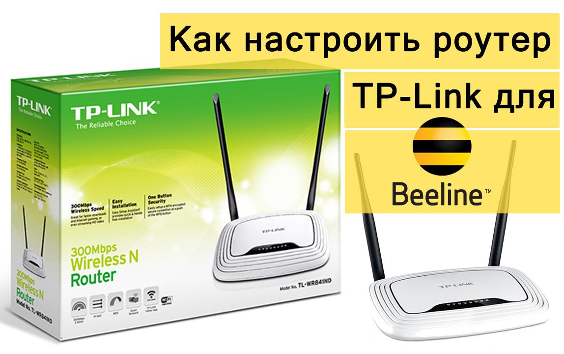 Как настроить роутер TP-Link для Билайна