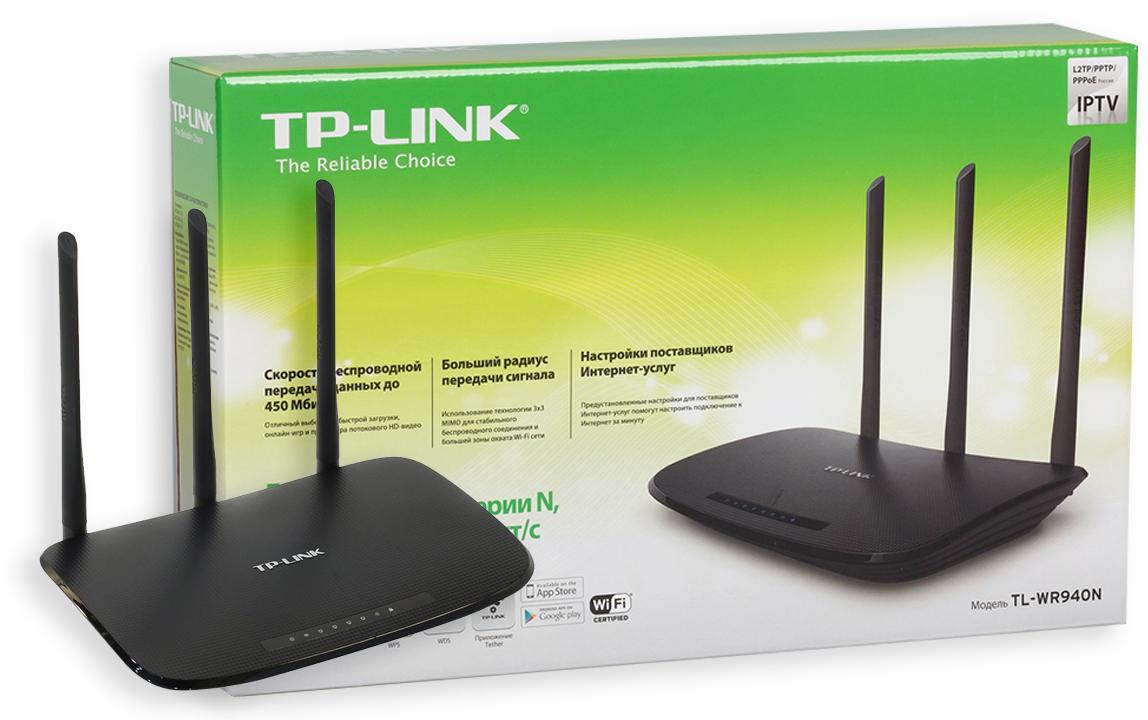 TP-Link модели TL-WR940N