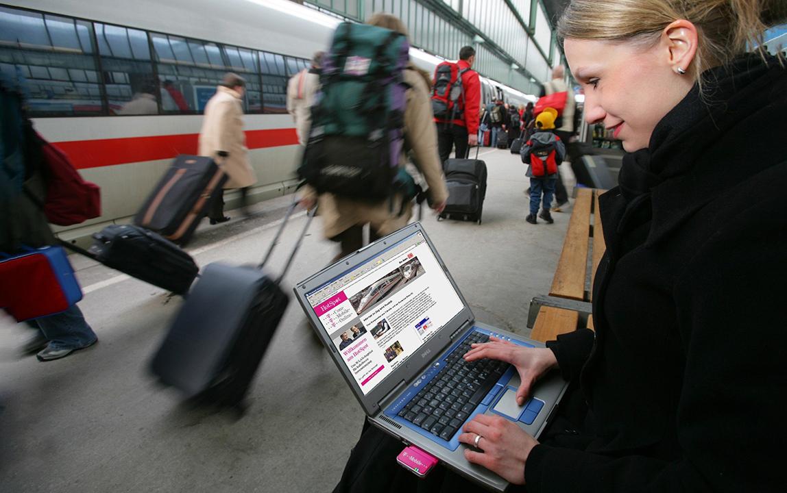 Как подключиться к вай-фай в поезде РЖД