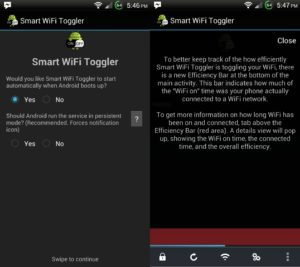 Smart Wi-Fi Toggler