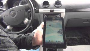OBD-II разъем подключение к планшету
