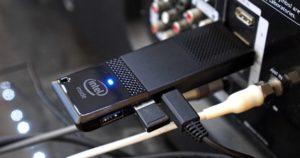 Подключение Intel compute stick