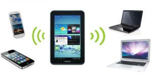 Как передать Интернет с планшета на ноутбук и другие гаджеты