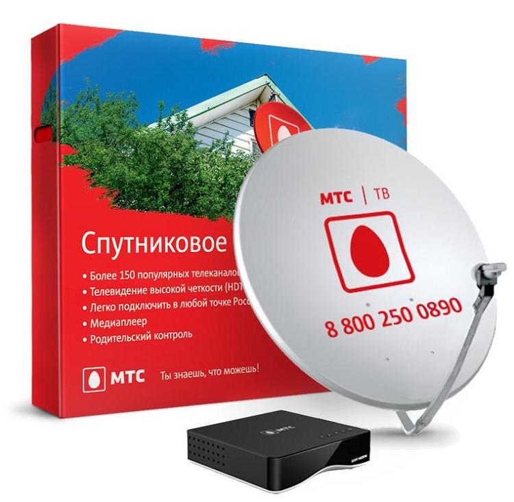 «МТС», спутниковоеТВ иинтернет