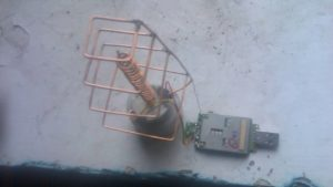 Самодельная 3G антенна для смартфона