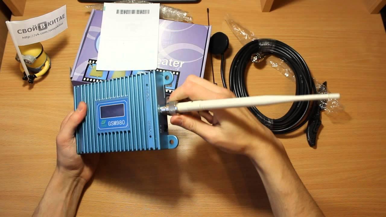 Усилитель GSM 3G, 4Gсигнала для дачи своими руками
