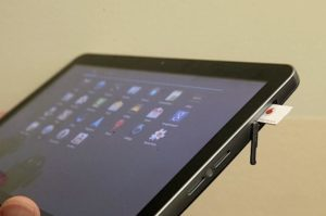 Как на планшете включить 3G, правильность установки карты