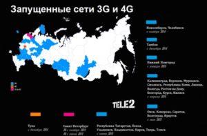 Покрытие и его отличие 3G от 4G в телефоне