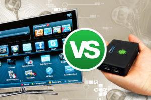 Сравнение «умного» телевизора иприставки саналогичным набором функций