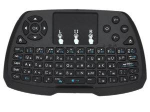 Пример стандартной клавиатуры для приставки СМАРТ-ТВ