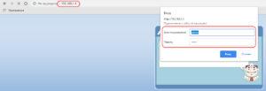 В адресной строке браузера вместо названия сайта надо набрать IP-адрес роутера