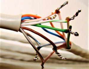 Припаянные провода
