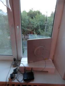 Приемная антенна в частном доме