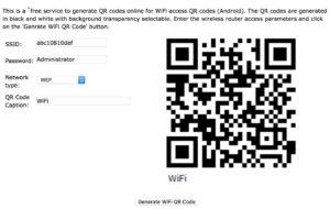 Пароль от Wi-Fi как QR