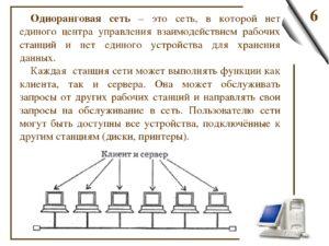 Конфигурация локальной компьютерной сети, вкоторой все станции рабочие
