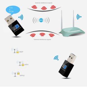 Работа Wi-Fi адаптера