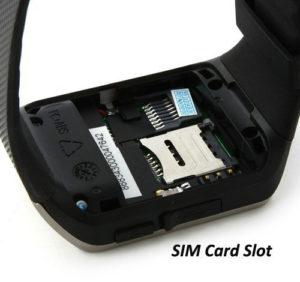 Поднять аккумулятор и открыть слот для Сим-карт