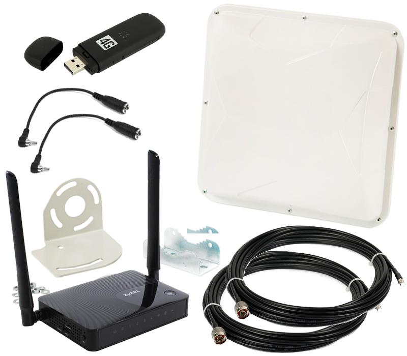 Рис.1.Антенный 3G/4G комплект