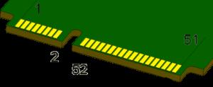 Распиновка – схема, указывающая назначение контактных площадок