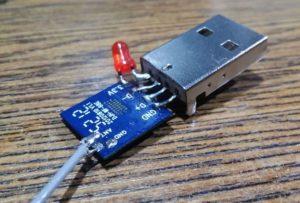 Подсоединять методом пайки контакты модуля Wi Fi к разъему последовательного порта