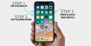 Принудительная перезагрузка iphone