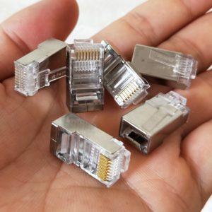 Разъемы RG-45 для обжатия сетевого кабеля