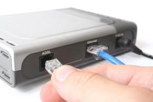 Подключение к ADSL модему