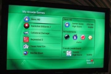 Профиль на Xbox Live