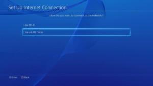 Подключение при помощи LAN кабеля