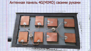 Полосковые резонаторы или панельные антенны