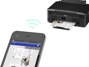 Распечатка документов возможна с мобильного, подключенного к сети
