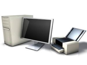 Перед началом печати необходимо удостовериться, что компьютер, привязанный к принтеру, включен