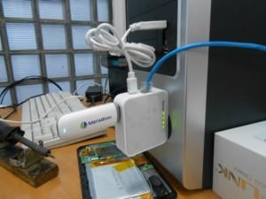 Система ноутбук-роутер