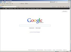 Стартовая страница браузера Google Chrome
