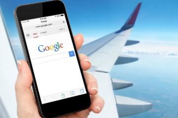 На самолете возможно подключение к мобильному интернету