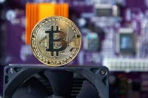 Знак самой известной цифровой валюты