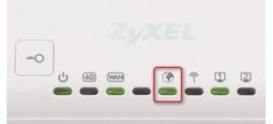 Световые индикаторы на роутере Zyxel