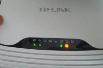 Красная лампочка интернета
