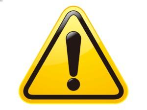Этот знак означает наличие проблем с драйвером.
