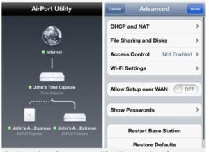 Настройка роутера через «Айфон» без программы