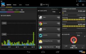 Внешний вид приложения My Data Manager
