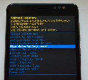 Настройки инженерного меню Android