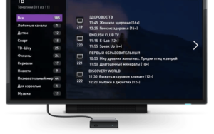Есть возможность подключить и телевизионную приставку для просмотра IPTV от провайдера
