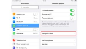 Инструкция «Как активировать и включить интернет на айфоне вручную»