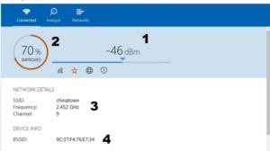 Внешний вид «Аналайзера» на Windows 10