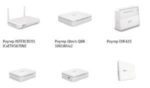 Список доступного оборудования в интернет-магазине МТС
